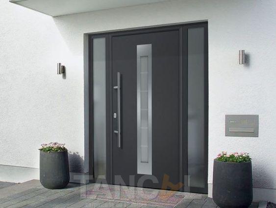 Per què has d'instalar una porta d'entrada d'alumini